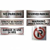 No Parking Signs for Home, Office, Business or Shop